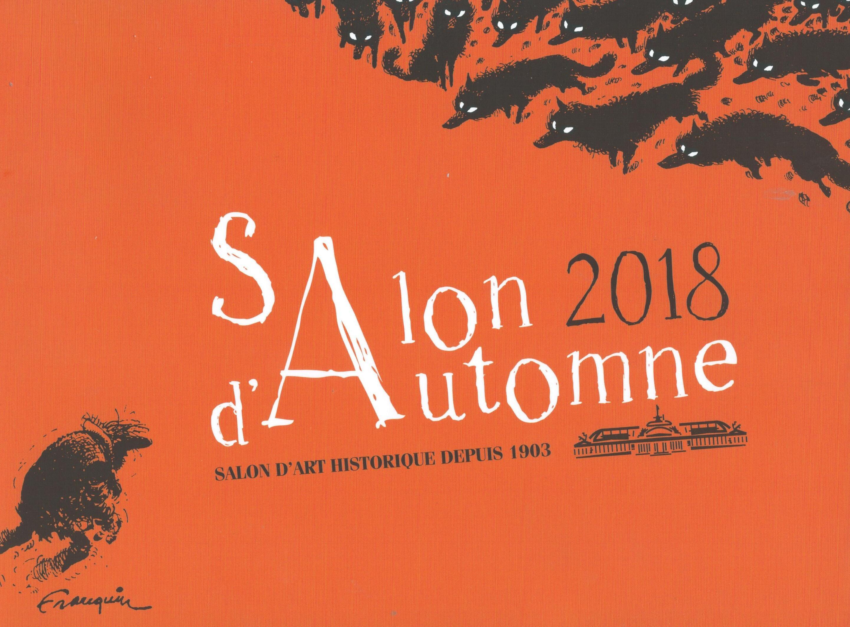 Affiche du Salon d'automne 2018