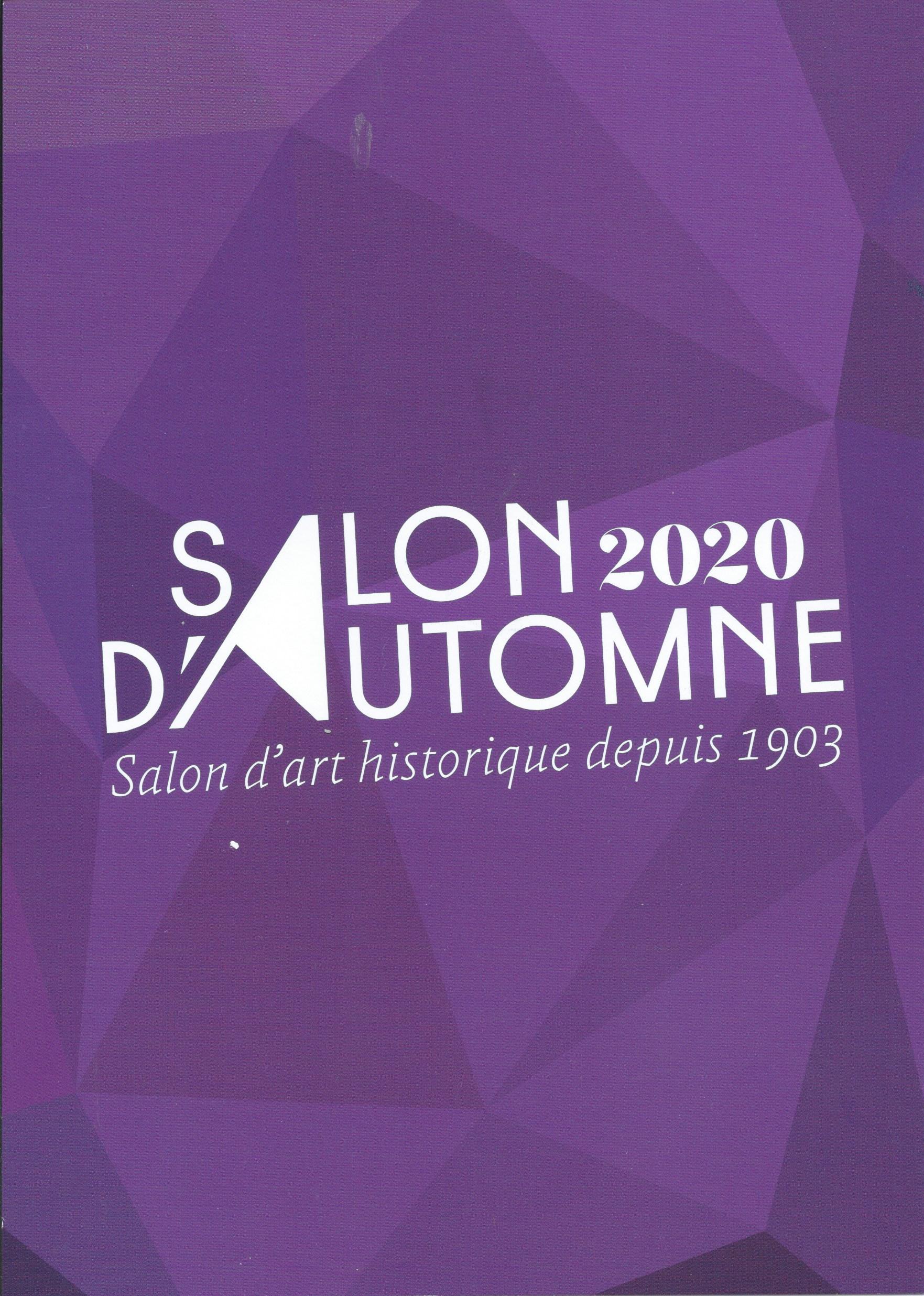 Affiche du Salon d'automne 2020